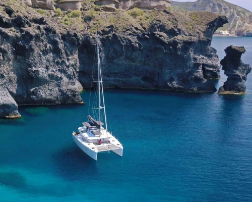 New! Explore Greek Islands with a Catamaran