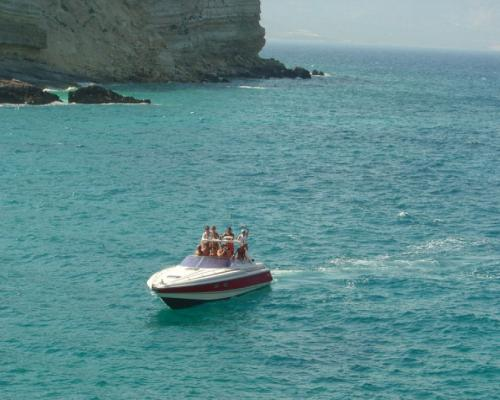 "Cruise to Anafi Island with ""Heaven Can Wait"""