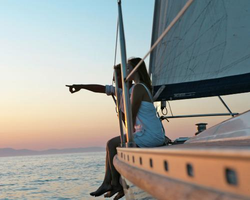 Caldera & Thirasia Private Luxury Sailing Cruise